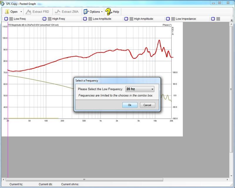 Graph 20 Hz